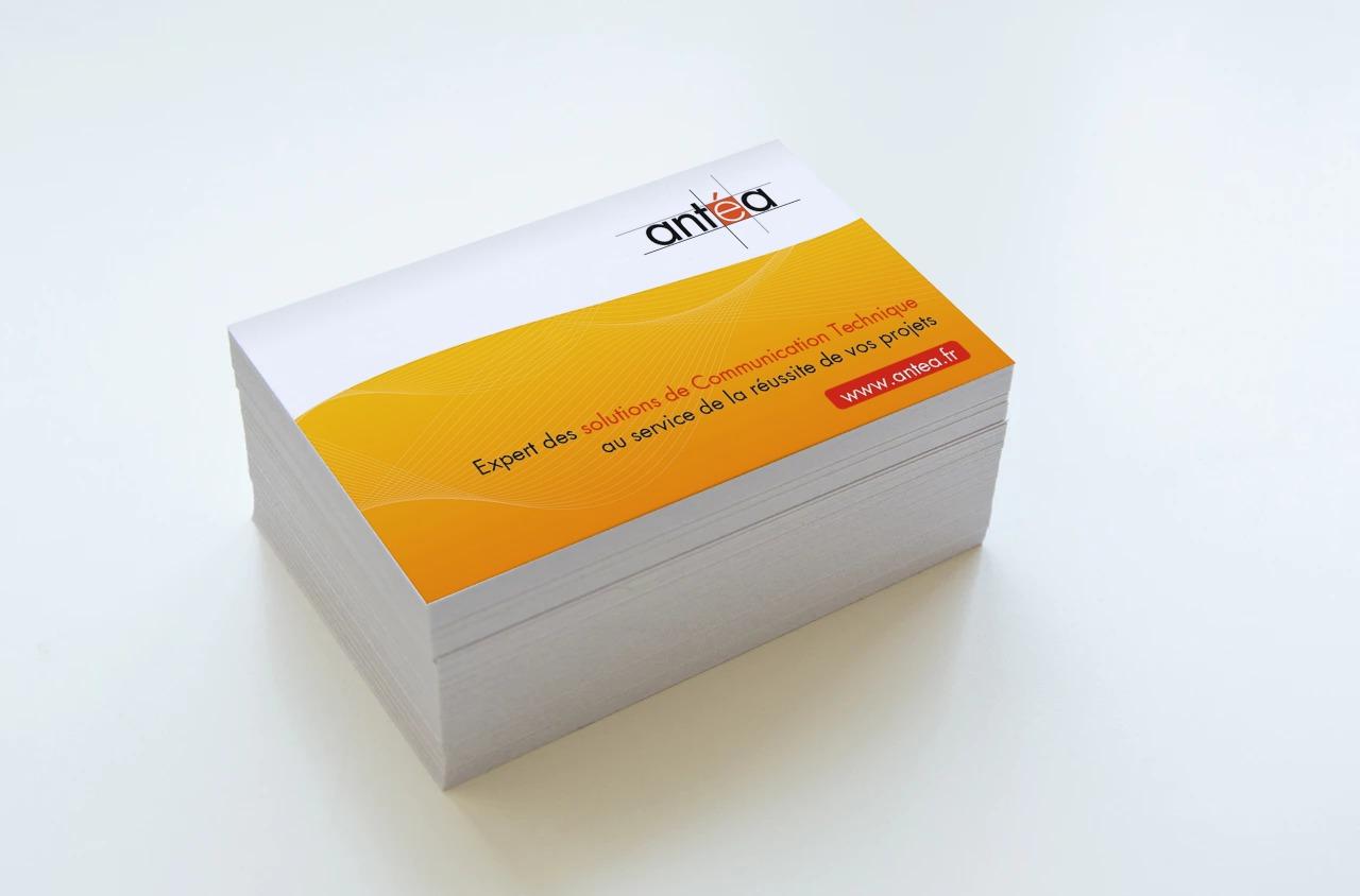 Antea – Carte de visite recto