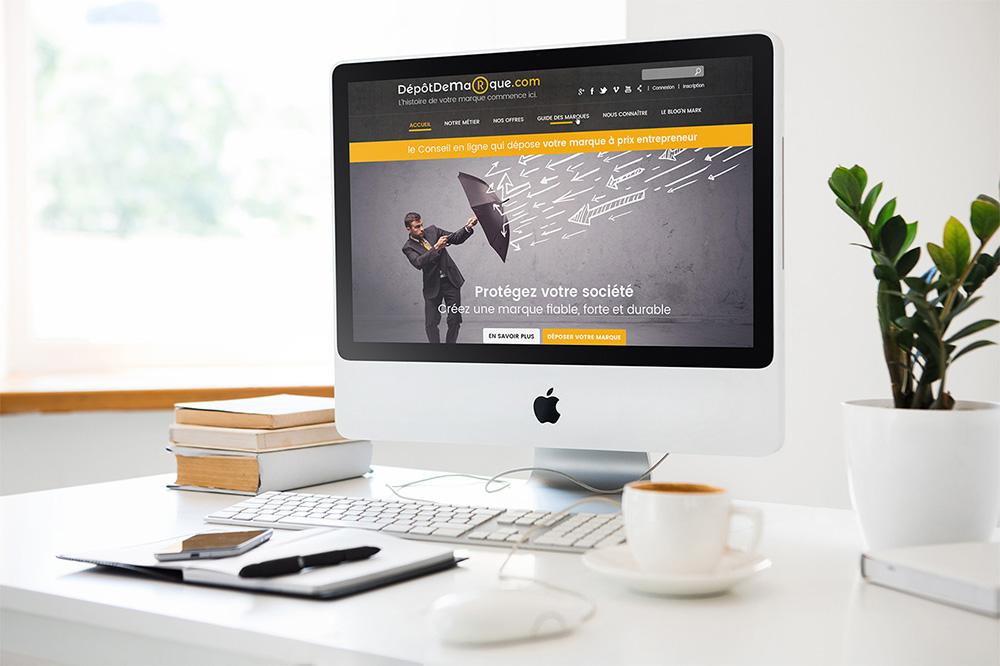 Dépôt de marque – Site internet