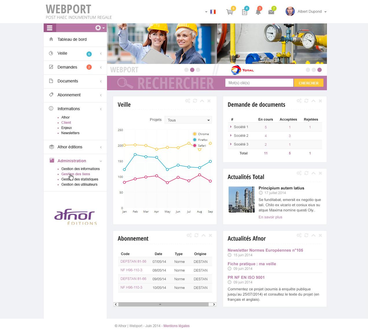 afnor-webport