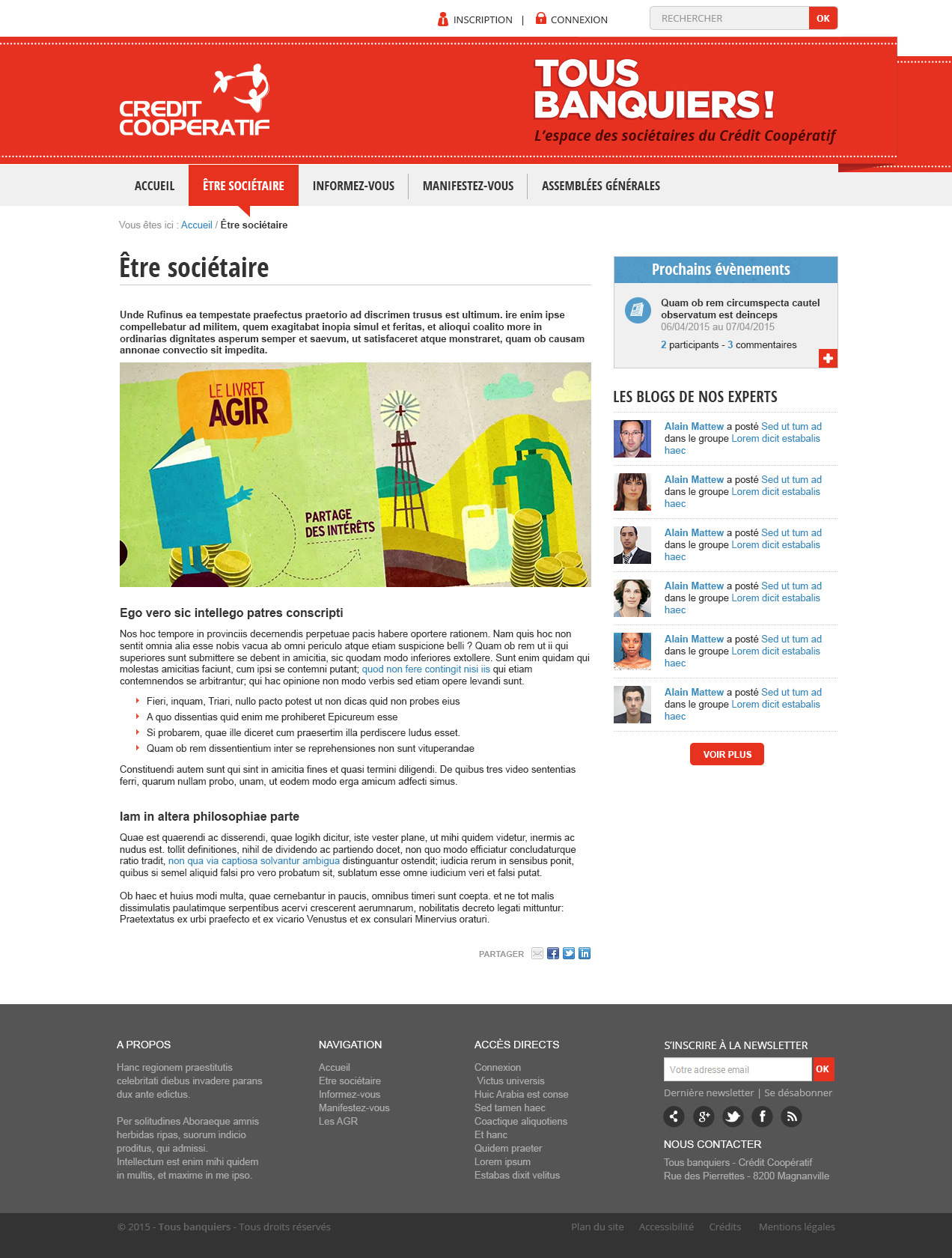Crédit Coopératif Tous Banquiers – Page
