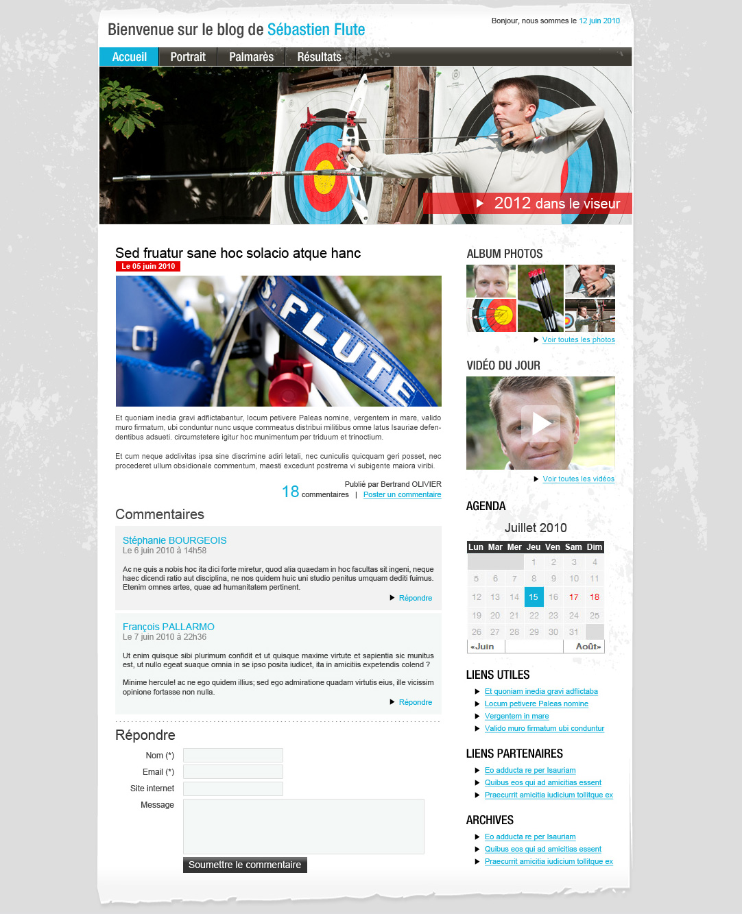 Sébastien Flute – Blog – Article
